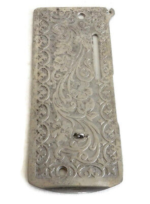 Antique Singer 27 and 127 Sewing Machine Scrolled Front Nose Cover Plate