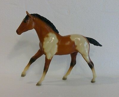 Breyer Model Horse Pinto/Paint Foal #237 on Action Stock Horse Foal mold #235