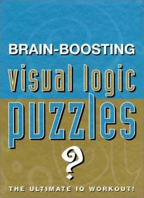 Brain Boosting Visual Logic Puzzles (Puzzle Books) By  Heather Dickson