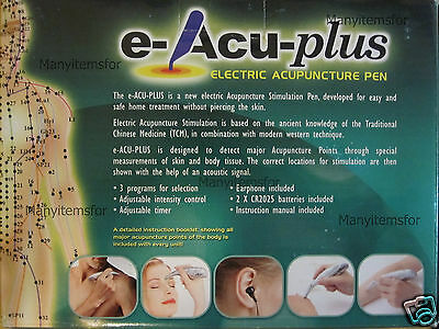 Acu Pen Electronic Acupuncture Stimulator Brand New With Out Box