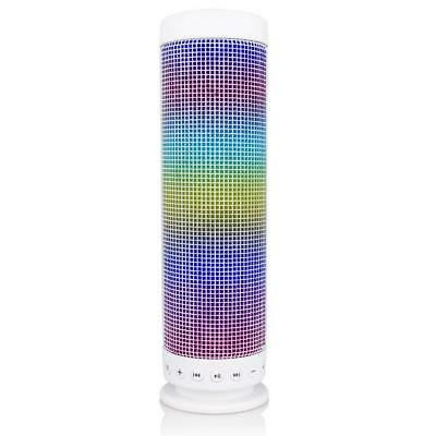 1x Portable Wirless Bluetooth 4.0 DSP Speaker +Dazzle LED Light Sound Microphone
