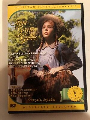 Anne of Green Gables DVD - Free Shipping in Canada!