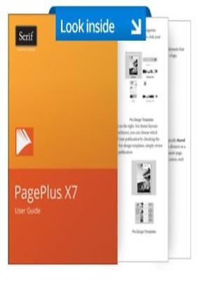 PagePlus X7 User Guide By Serif Europe Limited