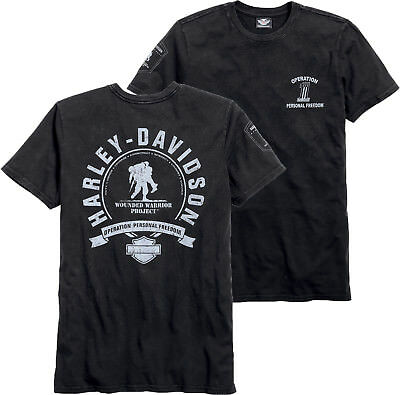 93e6c9d3c9a Harley-Davidson® Men s Wounded Warrior Project Short Sleeve T-Shirt S 99060-