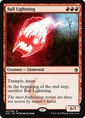 FULMINE GLOBULARE - BALL LIGHTNING Magic A25 Mint