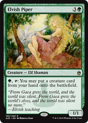 PIFFERAIO ELFICO - ELVISH PIPER Magic A25 Mint