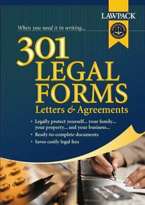 301 Legal Forms,Letters and Agreements (Legal Guides) By Lawpack Publishing