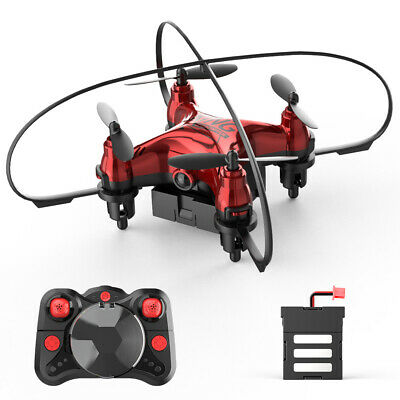 Holy Stone HS210 Mini Drone Headless 3D Flips Altitude Hold Quadcopter 3 Battery