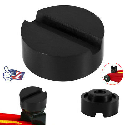 Universal Car Slotted Frame Rail Floor Jack Lift Rubber Pad for Lifting Adaptor