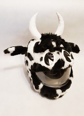 Motorcycle Cover Motorbike Funny Heeds Crazy Case Helmet Covers Cow Animal