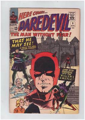 Daredevil # 9 That He May See ! grade 3.5 scarce book !