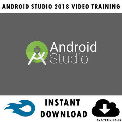 ANDROID STUDIO 2018 - Professional Video Training Tutorial - Instant  Download