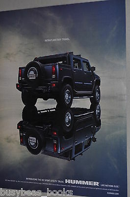 2005 Hummer advertisement page, HUMMER H2 Sport Utility Truck