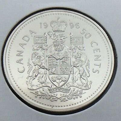 1996 Specimen Canada 50 Fifty Cent Half Dollar Canadian Uncirculated Coin G505