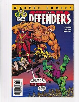 Defenders #6 (Marvel 2001)