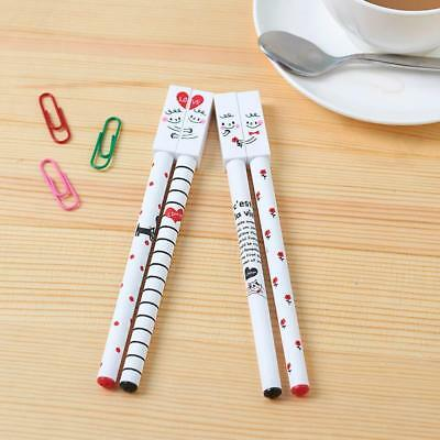 2X Lover Friendly Forever Gel Pen promotional Stationery School Office s A+