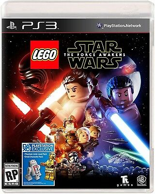 Playstation 3 Ps3 Game Lego Star Wars The Force Awakens Brand New And Sealed