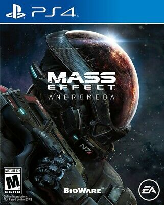 Playstation 4 Ps4 Game Mass Effect Anromeda Brand New And Sealed