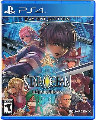 Playstation 4 Ps4 Game Star Ocean Integrity & Faithlessness Day One Edition New