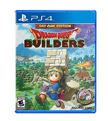 Playstation 4 Ps4 Game Dragon Quest Builders Day One Edition New