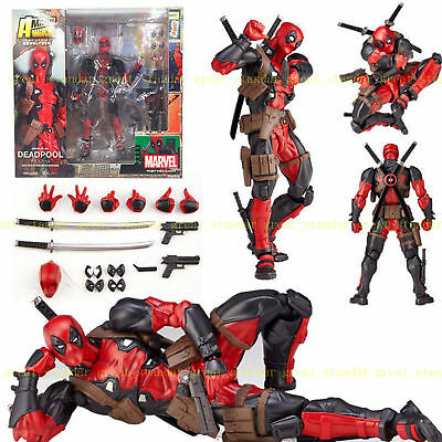 Marvel Legends X-men DEADPOOL Action-Figuren Revoltech Kaiyodo Verison Spielzeug