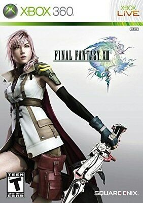 Xbox 360 Rpg Game Final Fantays Xiii 13 Brand New & Sealed