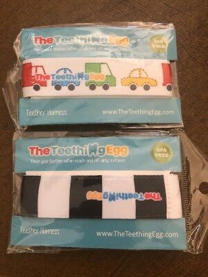 The Teething Egg Harness Set Of 2 New