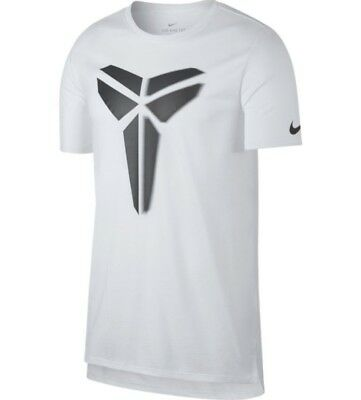 c2daed0fa NIKE KOBE BRYANT Sheath Dri-Fit T-Shirt White Grey (882174-010) Mens ...
