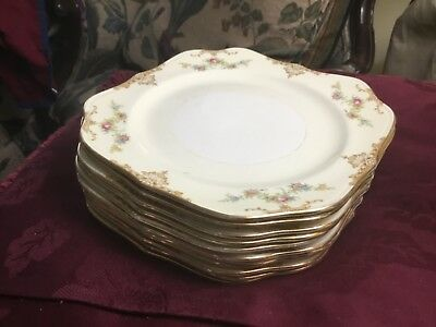 """Homer Laughlin ARISTOCRAT 8"""" SQUARE SALAD PLATES - 11 Available"""