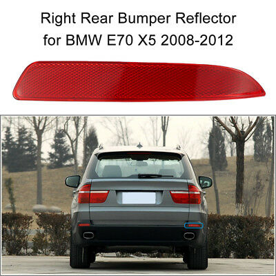 For Bmw E70 X5 2008-2012  Red Lens Rear Bumper Right  Reflector Fog Lights P6A9