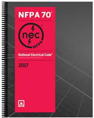 NFPA 70 Spiralbound : National Electrical Code (NEC), 2017 Edition by NFPA (New)