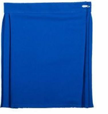 Kids/Childrens Netball Gym Sports Pleated Ladies/Girls School Wrapover Skirt