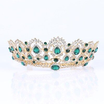 1PC Queen Wedding Bridal Crown Tiara Headpieces Hair Accessories Crown Jewelries