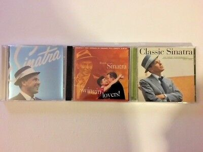 Frank Sinatra Lot of 3 CD's Classic Sinatra-Nothing But the Best-Swingin Lovers