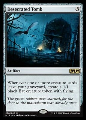 Tomb Desecrated - Desecrated Tomb MTG MAGIC 2019 M19 Eng