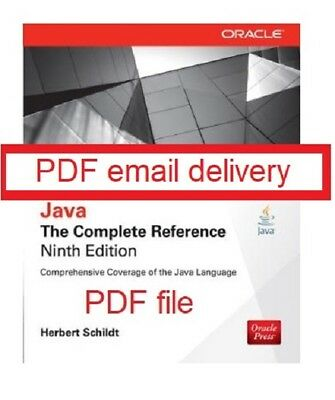 Java The Complete Reference - 9th edition - Herbert Schildt - PDF Email Delivery