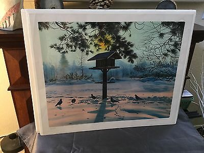 "Nelson,william Rare 463/500  ""day Break"" Numbered And Hand Signed Lithograph"