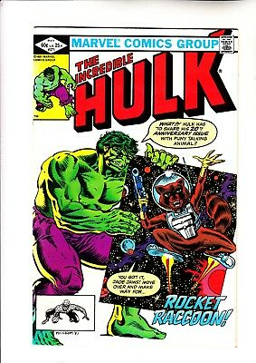 Hulk 271 1st Rocket Raccoon in standard comics