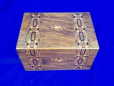 c1880 Victorian Tunbridge Ware Box