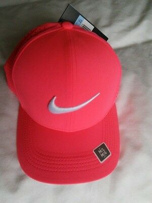 detailed pictures e3c34 6c1f9 BNWT Nike Aerobill Classic 99 golf cap hat  racer pink rare ... 16885a4153a