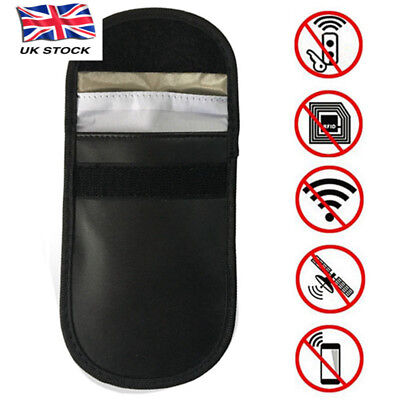 2 x Car Key Signal Blocker Case Faraday Cage Pouch Keyless RFID Blocking Bag UK