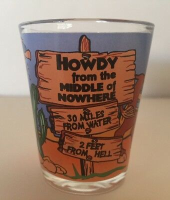 Middle of Nowhere Shot Glass