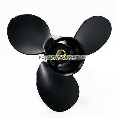 Aluminum Outboard Propeller 9X8 for Mercury Prop 6-15HP 48-828154A12