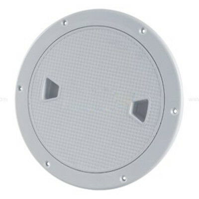 """5X(SEAFLO 8"""" Boat Round Deck Inspection Access Hatch With Detachable Cover Q3L4"""