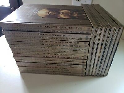 LOST CIVILIZATIONS Time-Life Books COMPLETE Set of 24 Books Excellent Condition
