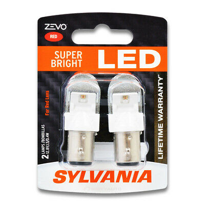 Sylvania ZEVO Brake Light Bulb for Rover 2000 3500S 1969-1971  Pack mf
