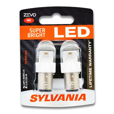 Sylvania ZEVO Tail Light Bulb for Rover 2000 3500S 1969-1971  Pack zs