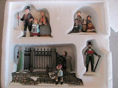 Dept 56 Dickens Village A Christmas Carol Reading By Charles Dickens #58403