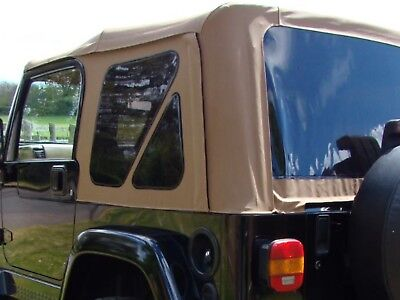 JEEP WRANGLER TJ 97-06 Replacement Soft Top With Tinted Windows Smittybilt  Tan