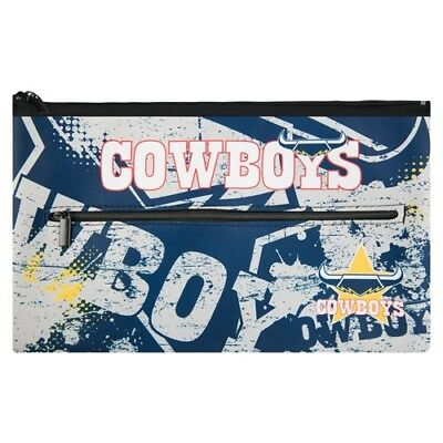 North Queensland Cowboys Neoprene Pencil Case